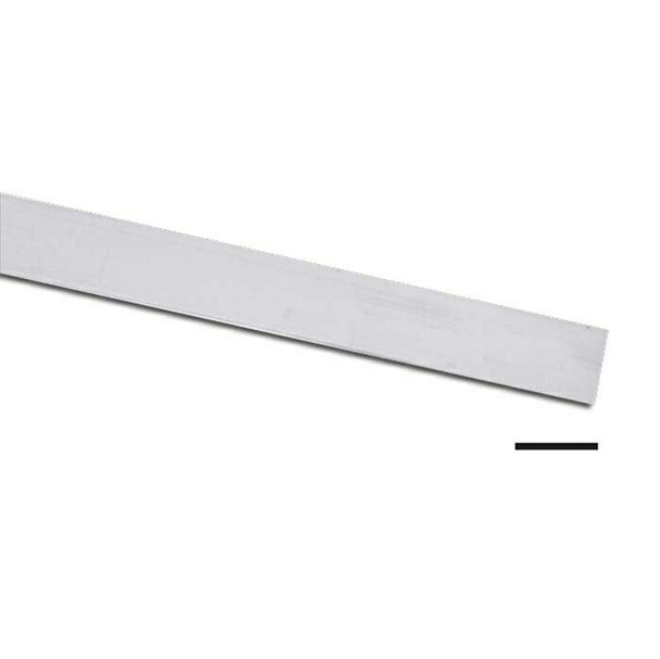 "999 Fine Silver 1/4""(6.35mm) Plain Bezel Strip, 28Ga (0.33mm) |Sold by cm| 101076 |Bulk Prc Avlb"