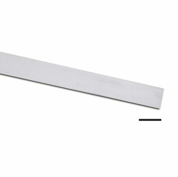 "999 Fine Silver 3/32""(2.38mm) Plain Bezel Strip, 28Ga (0.33mm)   Sold by cm   101071   Bulk Prc Avlb"