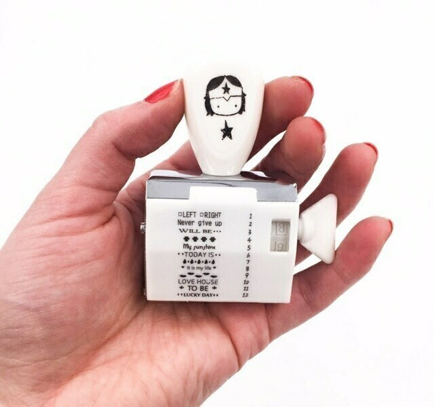 Dater Stamp   with Patterns & Messages   6932149452492