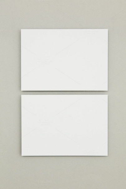 Blank Greeting Card Stock   White   DIY   Stamping   Sold by Each BGC001