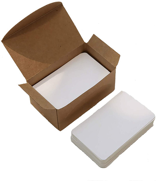 Business Card Stock | White | 90 pcs |DIY | Stamping | Sold by Each|BCS001