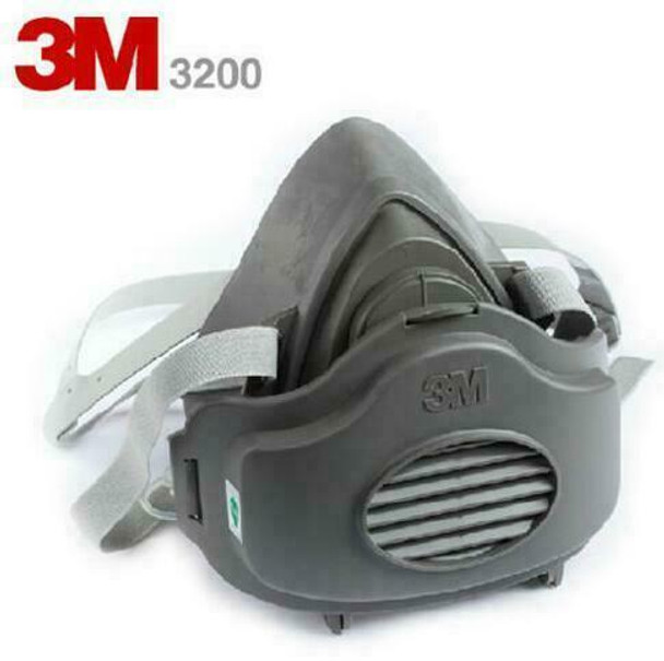 3M 3200 Half-Face Respirator(Includes a free Filter) | 051138542023
