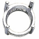 925 Sterling silver 8mm Round Pre-Notched Legendary Setting, 4-Prong | 910102