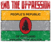 End the Oppression of Pineland Sticker