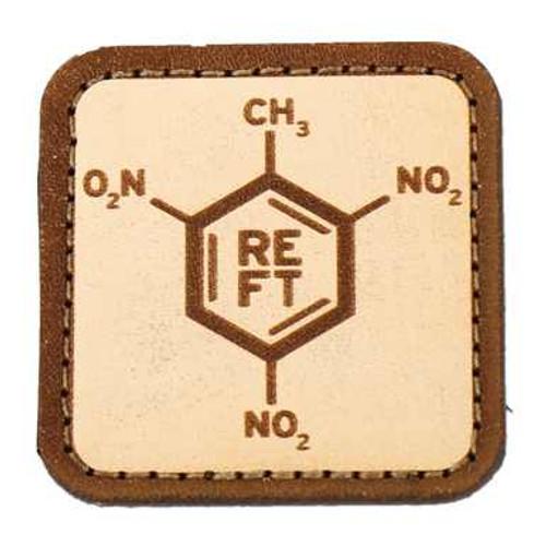 TNT Molecule Leather Patch