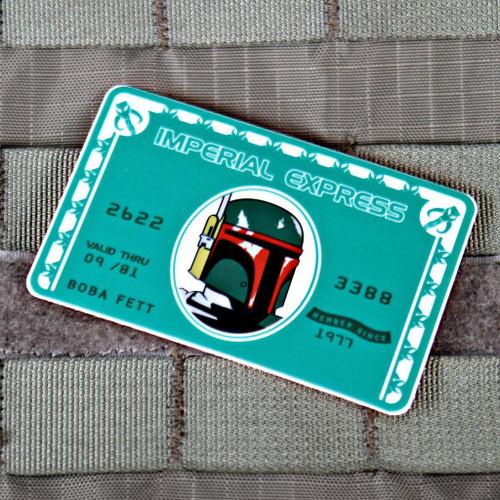Imperial Express Boba Fett Sticker
