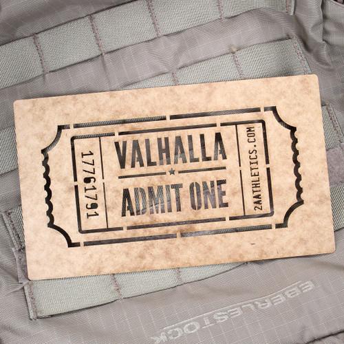 Valhalla Admit One Stencil