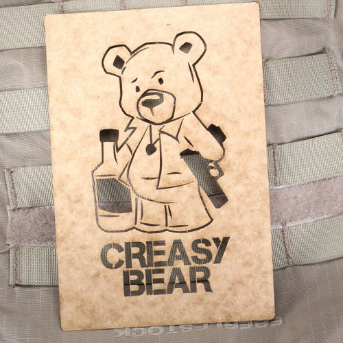 Creasy Bear Stencil