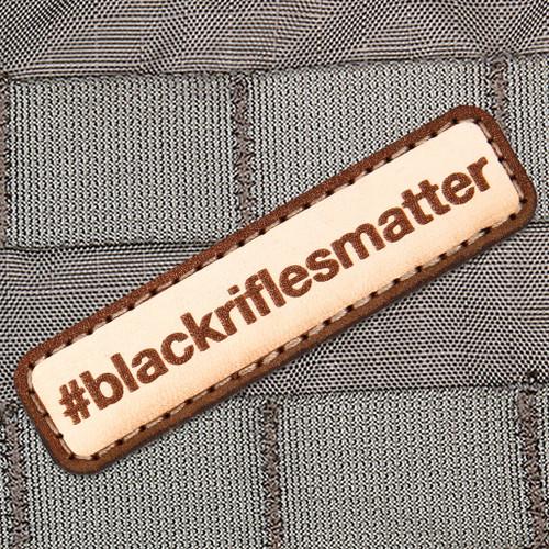 #blackriflesmatter Morale Patch