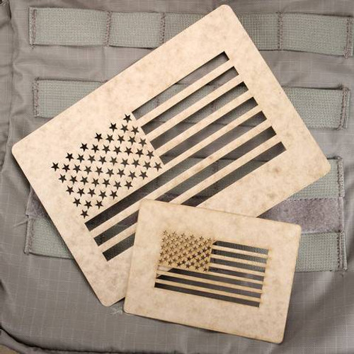 American Flag Stencils