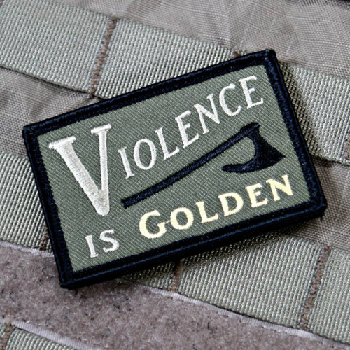 Violence is Golden Patch