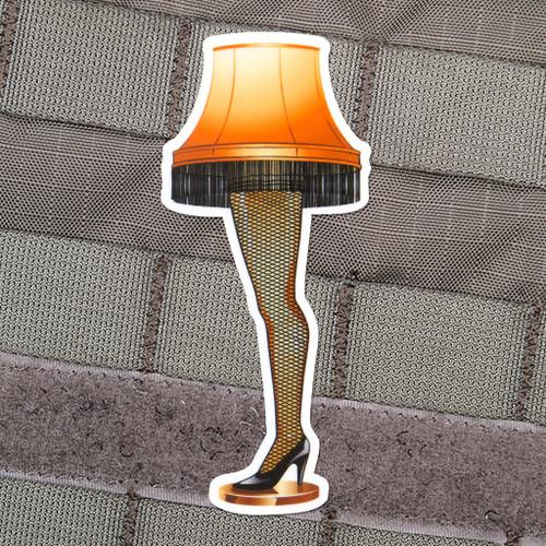 Fragile Leg Lamp Sticker