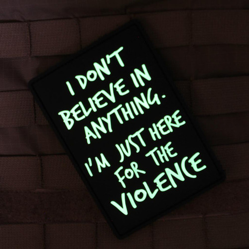 Here for the Violence Morale Patch - BIG BLACK