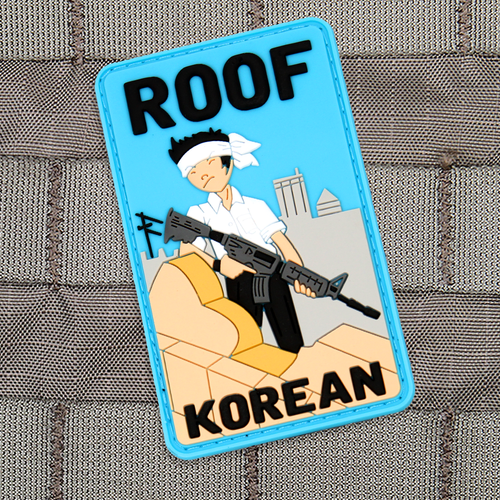 Roof Korean Color Morale Patch