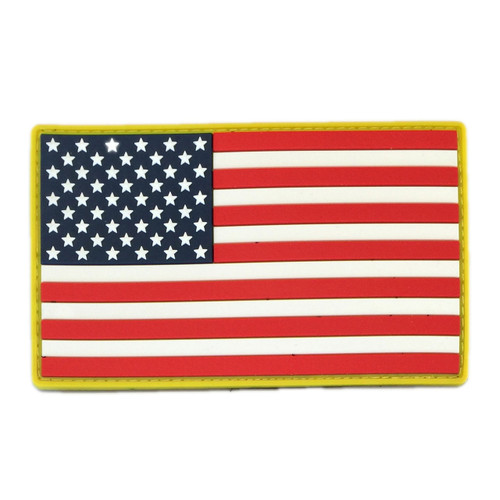 American Flag PVC Patch 3 x 5″