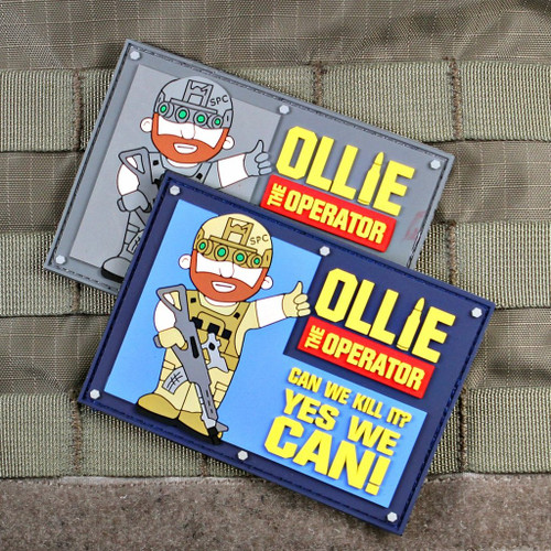 Ollie The Operator Morale Patch