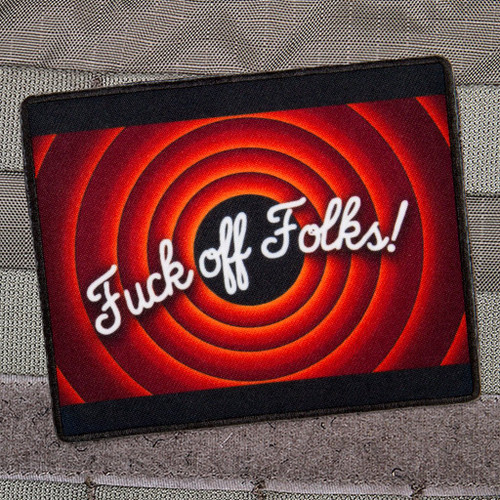 Fuck Off Folks Morale Patch