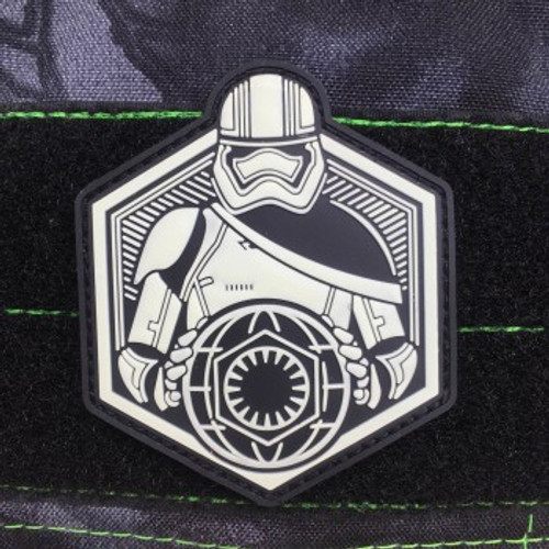 FIRST ORDER RISING GITD PVC MORALE PATCH