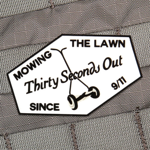 Mowing The Lawn Morale Patch