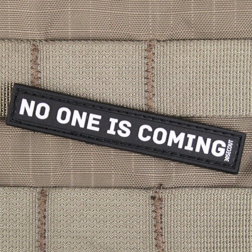 No One is Coming Mini Morale Patch