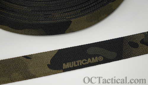 MMI Multicam Black Double Sided Webbing