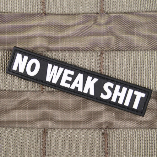 No Weak Shit Morale Patch