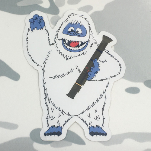 BUMBLE THE ABOMINABLE SNOW MONSTER STICKER