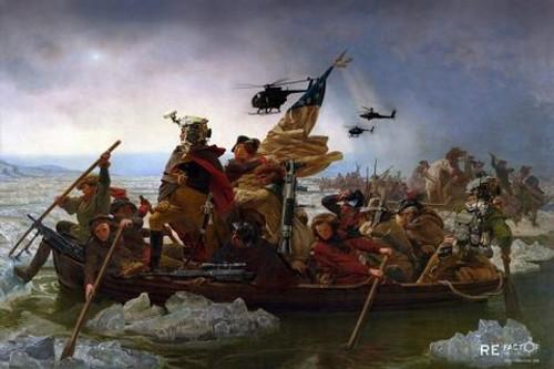 """Colonial Maritime Raid Force 24"""" x 16"""""""
