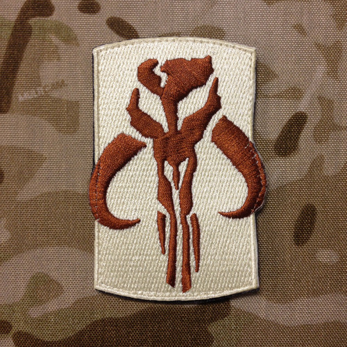 Mandalorian Warrior Morale Patch