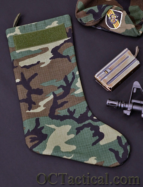 ERDL CAMO Christmas Stocking