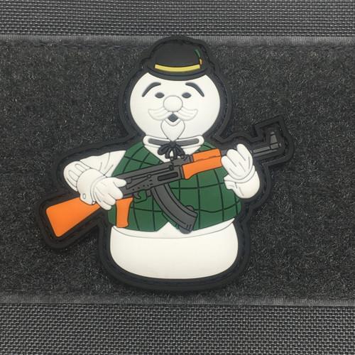 SAM THE SNOWMAN 3D PVC MORALE PATCH