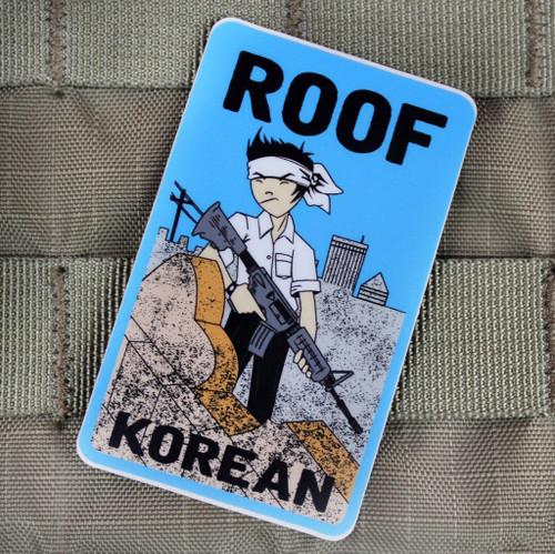 Roof Korean Sticker