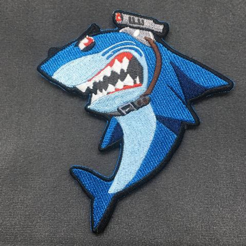 SHARK WITH FRIGGIN' LASER BEAMS - MORALE PATCH