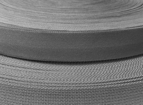 Wolf Gray Webbing, Solution Dyed