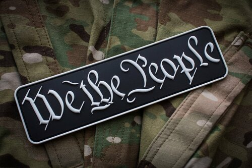 We The People Raid Patch