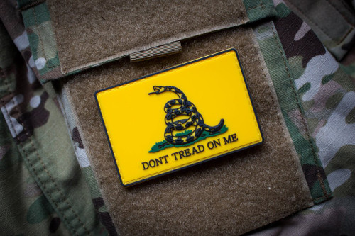 Don't Tread on Me Color Patch