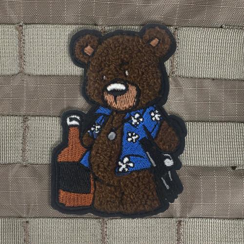 Creasy Bear Chenille Morale Patch