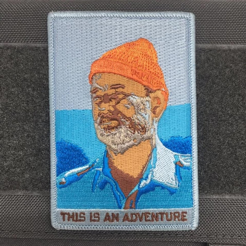 "ADRIFT VENTURE ""THIS IS AN ADVENTURE"" MORALE PATCH"