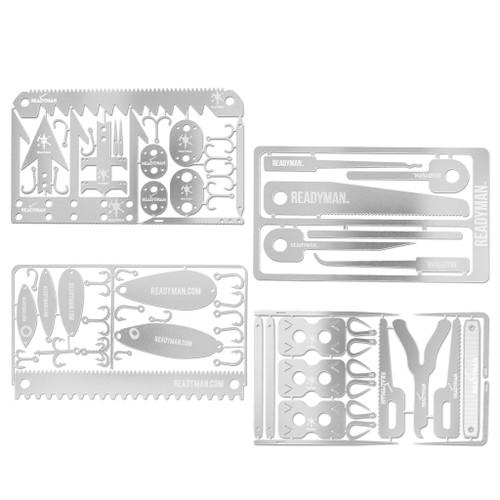 Readyman Total Survival Card  Kit