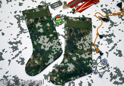 Finnish M05 Pakkaskuvio Camo Christmas Stocking