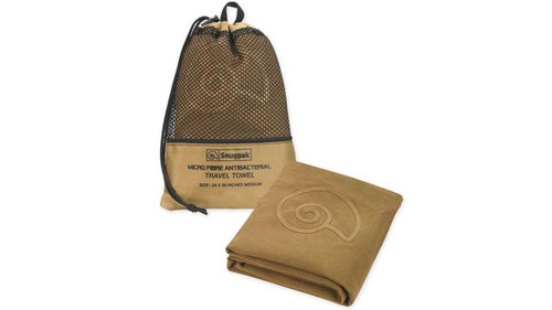Snugpak Microfibre Antibacterial  Travel Towel Medium 24x36 Coyote