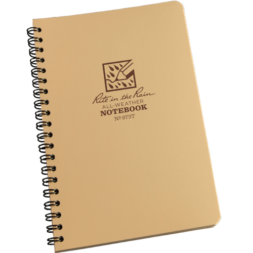 Rite in the Rain Spiral Notebook 4 5/8 in x 7 in