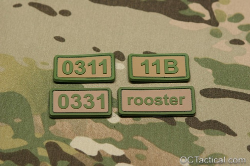 Battle Systems PVC MOS Patches