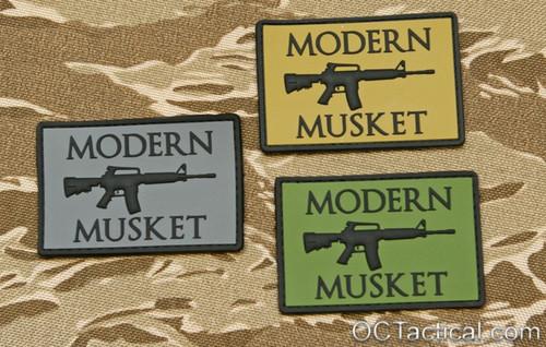 Modern Musket PVC Patch