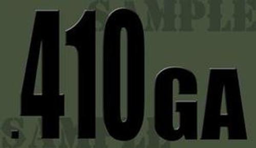 410ga Ammo Can Magnet - Black Font