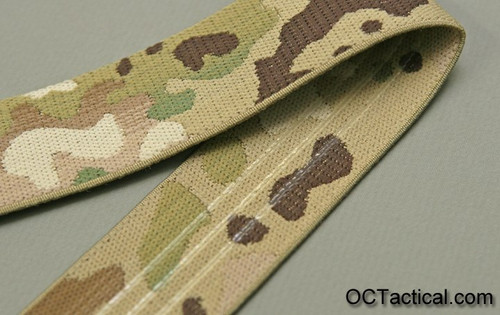 Multicam 1.5 Inch Elastic with Silicone Backing