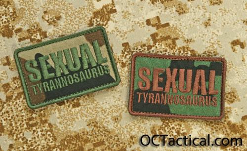 GWA Sexual Tyrannosaurus Patch