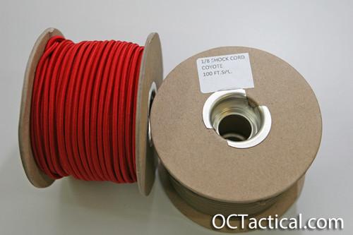 1/8 Shock Cord 100 Foot Spool