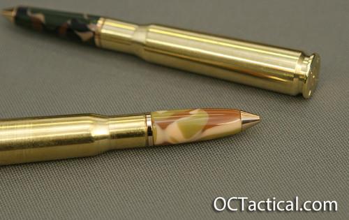 Camo 50 Cal Bullet Pen