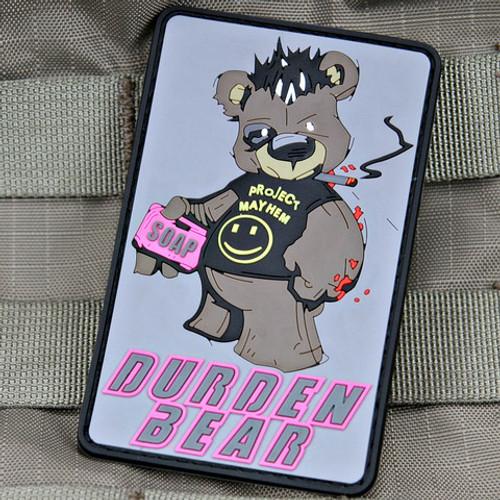 Durden Bear Fight Club Morale Patch
